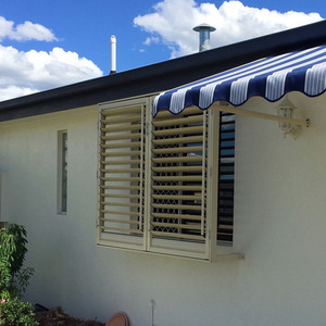 adjustable louvre shutters blinds awnings