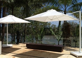 mobile outdoor umbrellas
