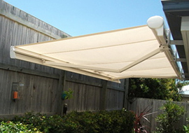 courtyard & patio awnings online